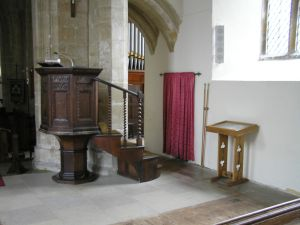 Pulpit on 11th February 2013